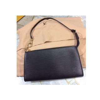 LV Pochette Epi Leather