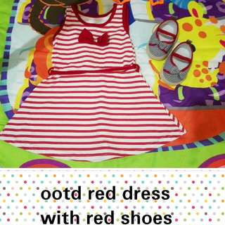 Baby Dress With Shoes
