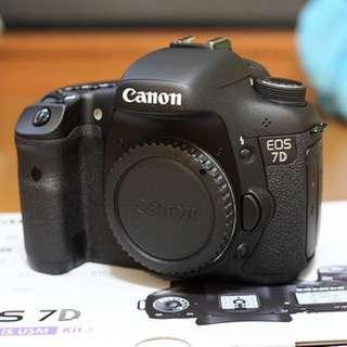 Canon eos 7D Body Like New