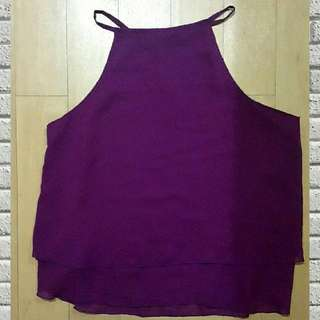 Loose Halter Top