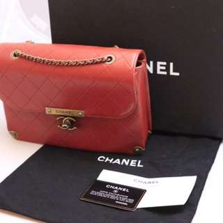 Authentic Brand New 2016 Chanel Lamb Skin Flap Bag