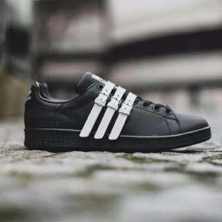 *PRICE DROP* BNWT Adidas Stan Smith Strap x Raf Simons (Core Black Size US9.5)