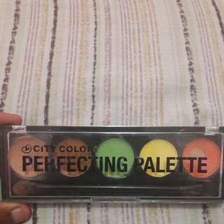 Correcting Pallete By City Color