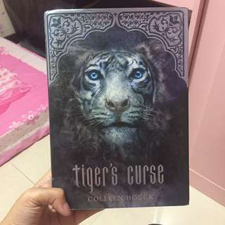 Tiger's Curse by Colleen Houck (Book 1)(Hardcover Inggris)
