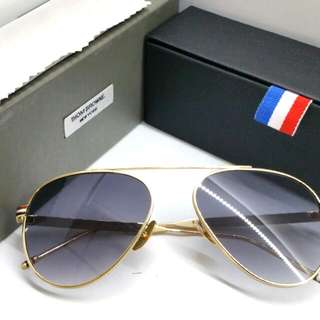 e2b15e46c050 Authentic Thom Browne Sunglasses + Original Box Case Aviator Mirror Lens