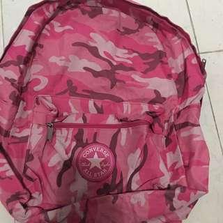 Ransel Converse Army Pink Original 100%