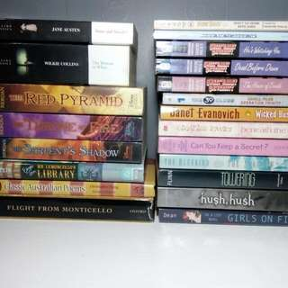 Free Shipping* Well Taken Care of Pre Loved books  Prices Are Negotiable (pwede Tumawad)