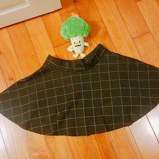 💋韓版格子裙