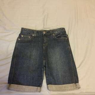 bossini 深藍牛仔褲 #三百元牛仔