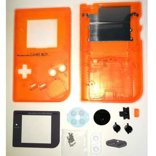 Game Boy DMG-01 Case and accessories.