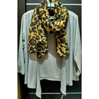 Scarf Leopard & Outer