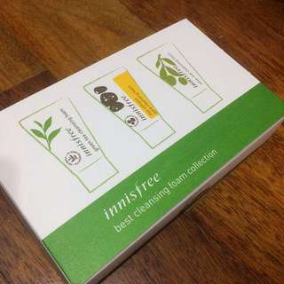 AUTHENTIC INNISFREE SAMPLE SIZE CLEANSERS