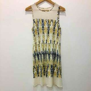 H&M Aztec Paint Dress