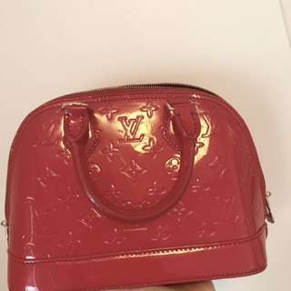 LV Red Small Size Bag