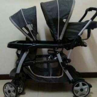 Graco Ready To Grow Stroller / Sibblings Stroller