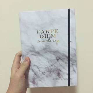 Carpe diem Notebook / Just Lines By The Paper Stone