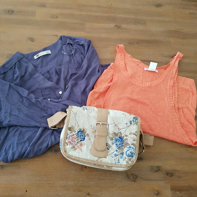 2 X Tops And A Bag
