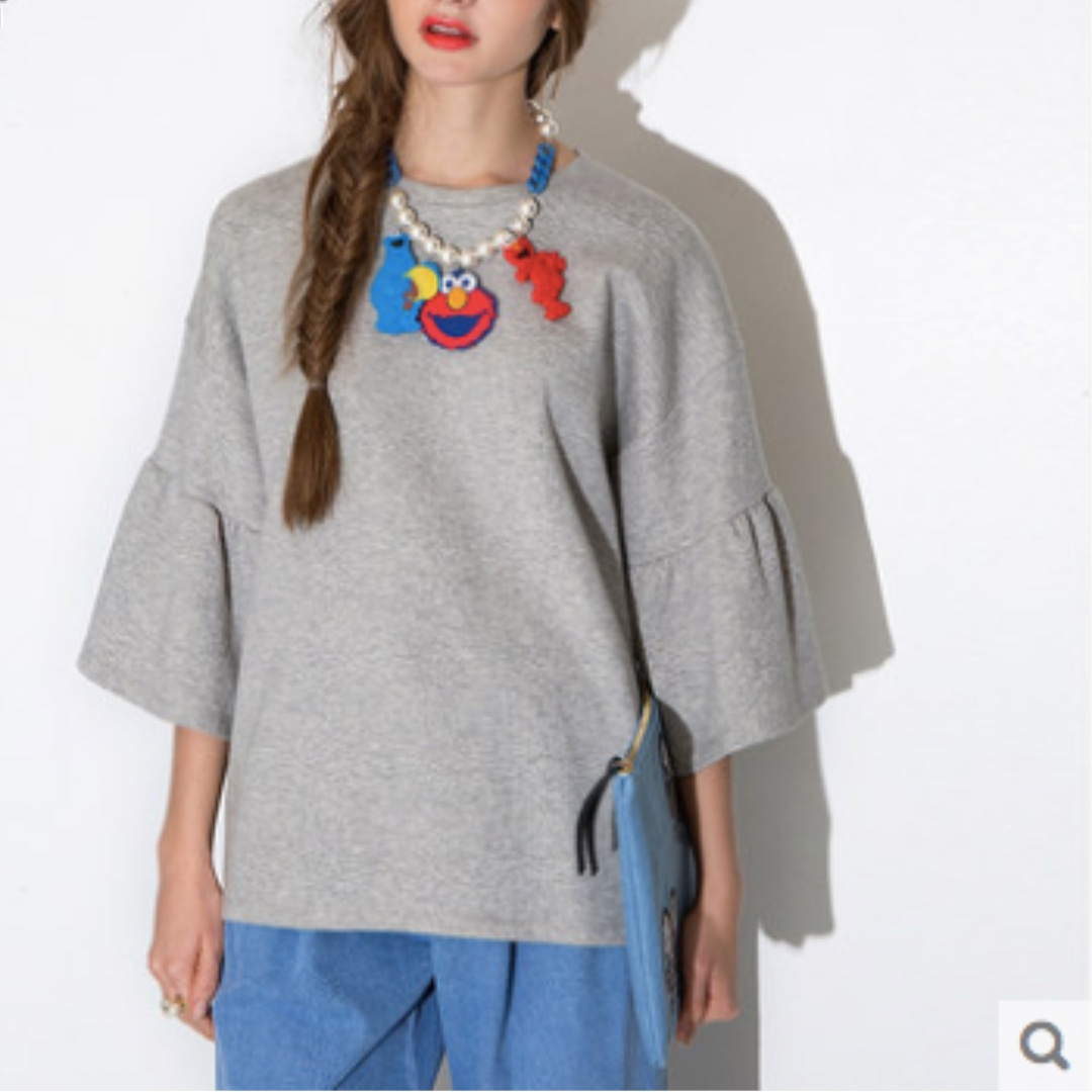 3/4 Wided Sleeves Top
