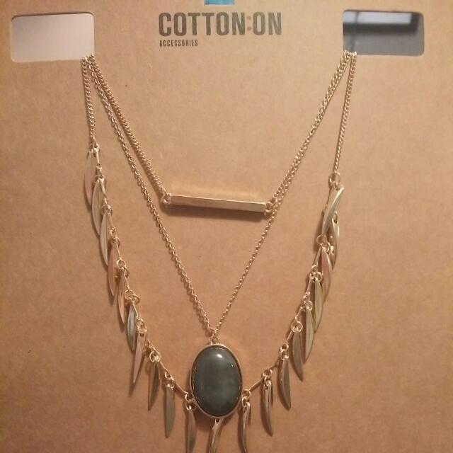 3-tiered Necklace