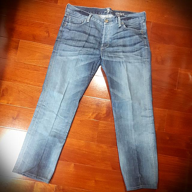 7 for All Mankind Button Fly Jeans
