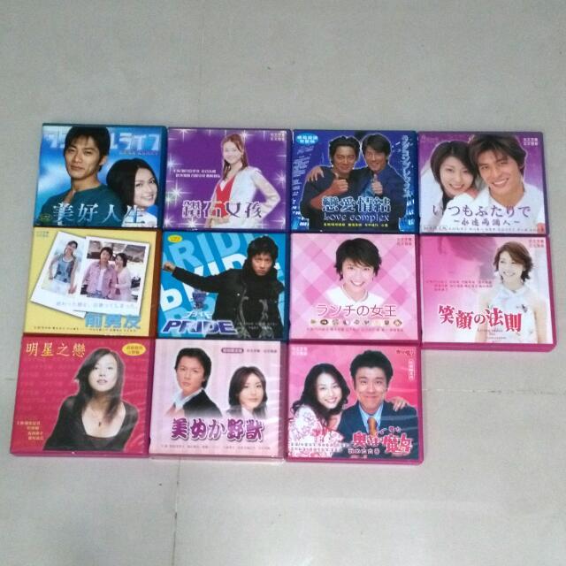 日劇光碟 (1部30元)
