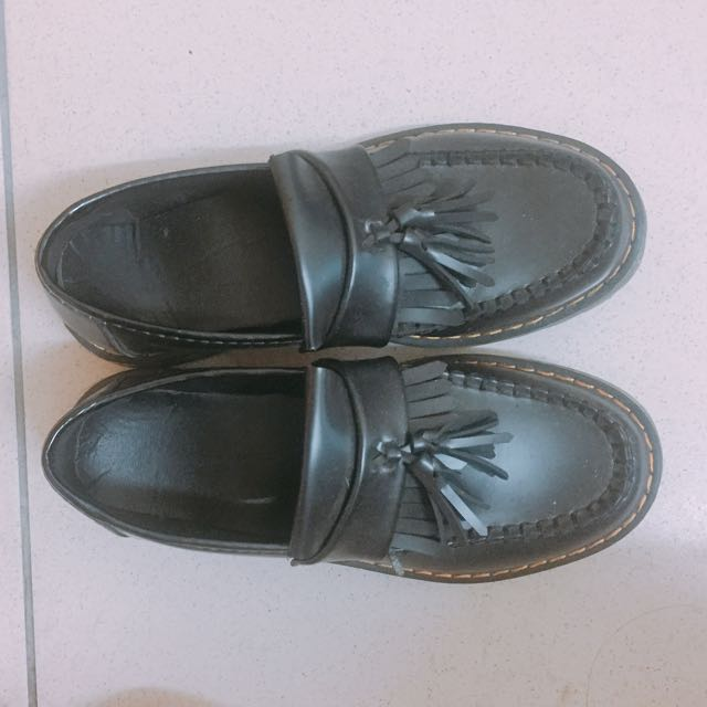 復古流蘇 平底鞋