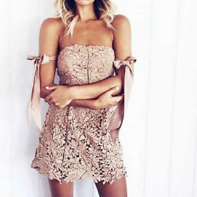 🔼全新 歐美蕾絲洋裝(代售)