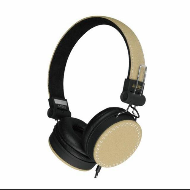✨全新 INTOPIC 摺疊音樂耳機麥克風 JAZZ M100 黃