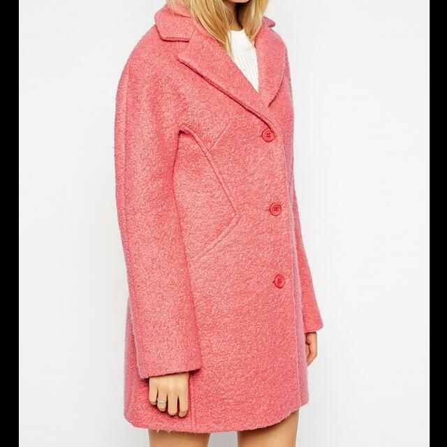 REDUCED AGAIN 🌸 Pink ASOS Wool Coat 🌸