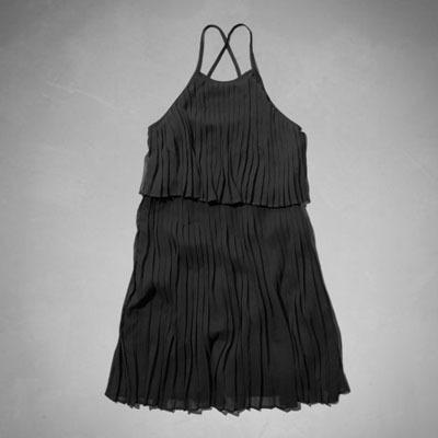 Abercrombie Pleated Tier Dress