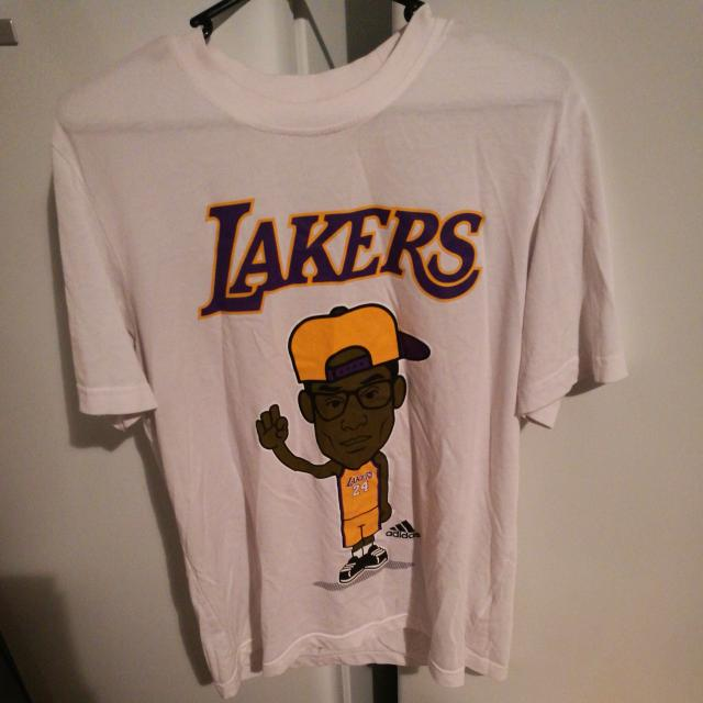adidas tshirt lakers 24