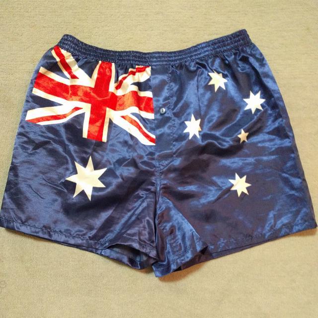 Australia Boxer Shorts, Size Large, Alpha Brand