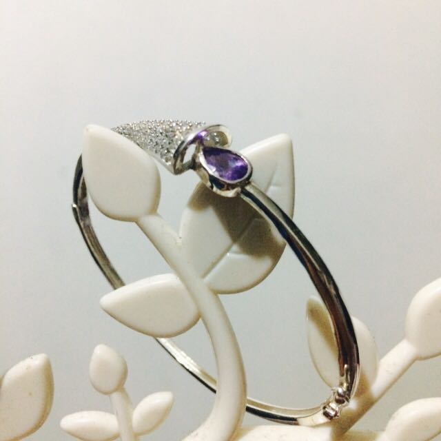 Authentic 92.5 Silver Bangle