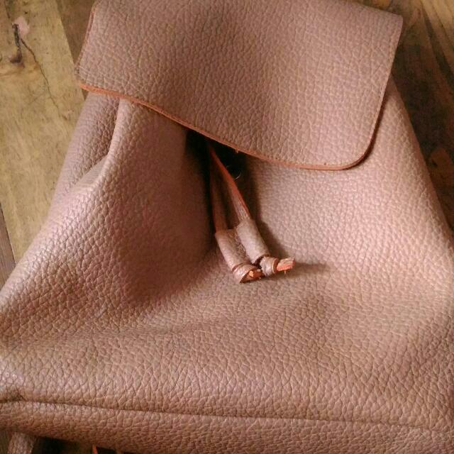 Avon Leather Bag
