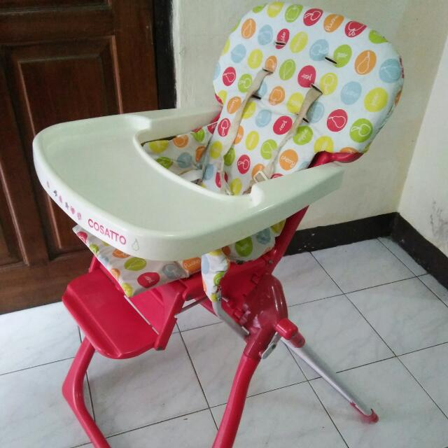 Baby Chair / Kursi Makan Bayi / High Chair Mothercare Cosatto
