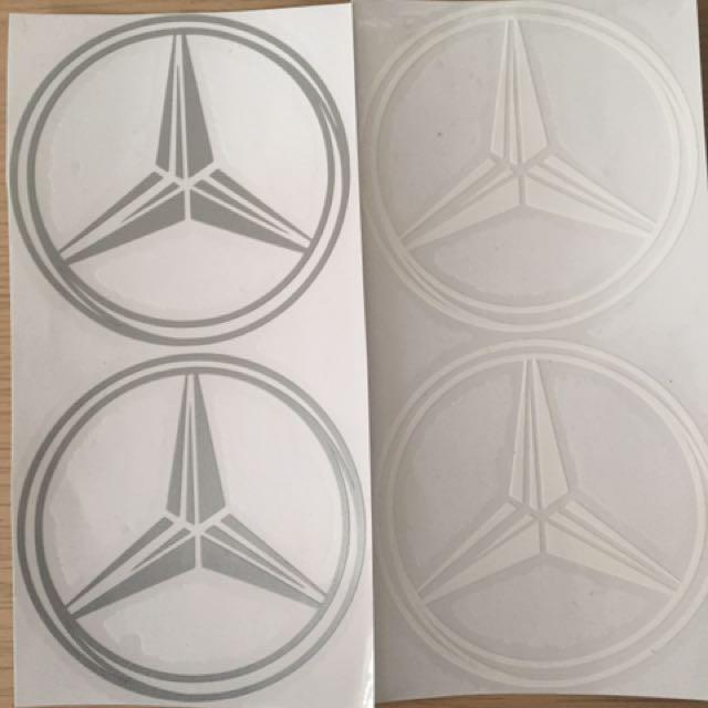 Benz Logo貼紙