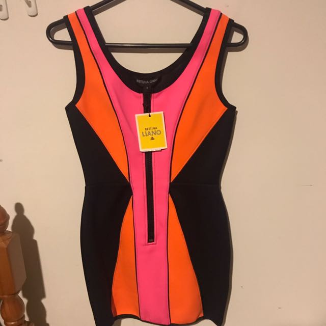 Bettina Liano Rare Wetsuit Dress