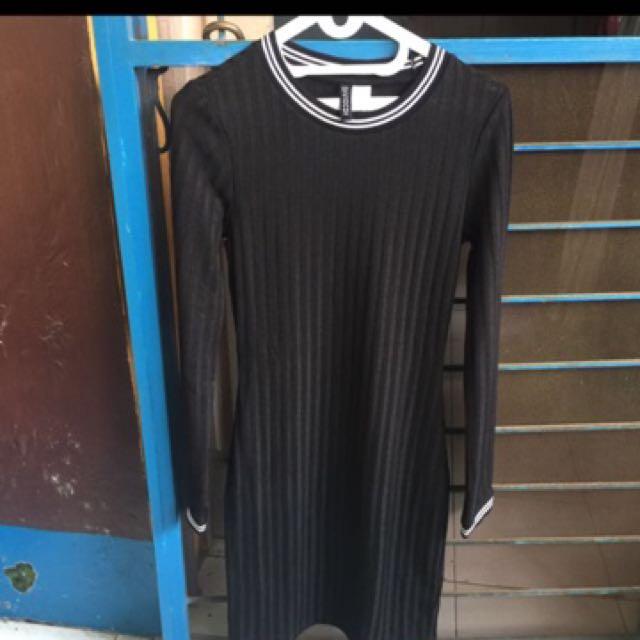 Black dress by H&M