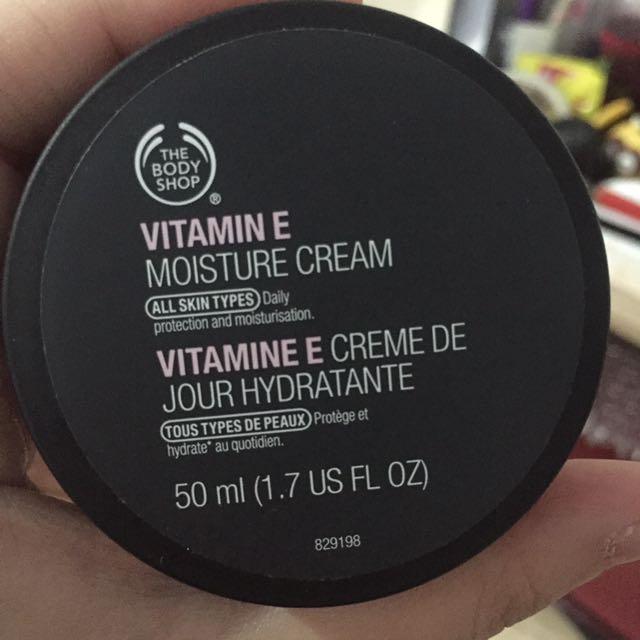 Body Shop Vit E Moisture Cream