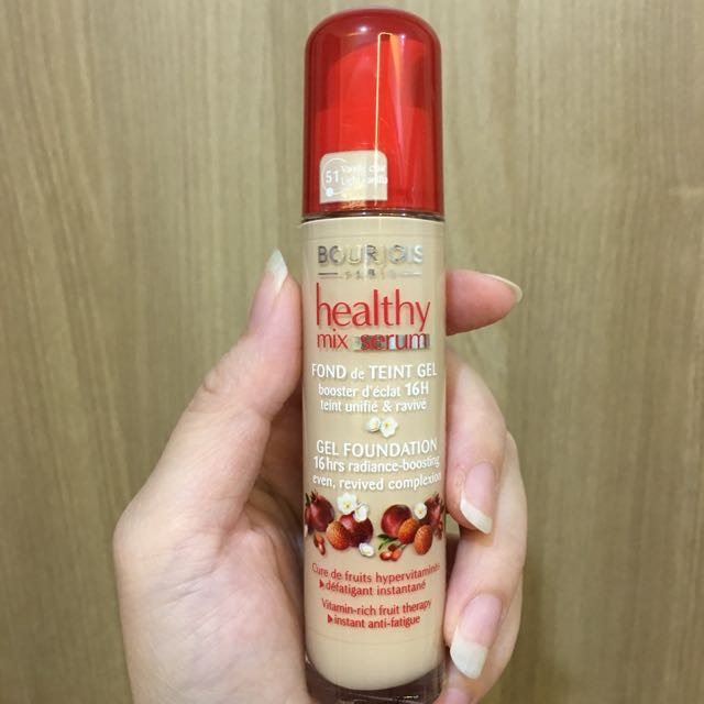 Bourjois Healthy Mix Serum. Gel Foundation.