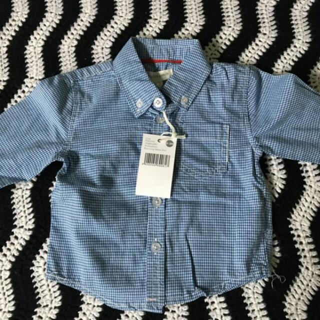 Brand new with tag baby boy shirt