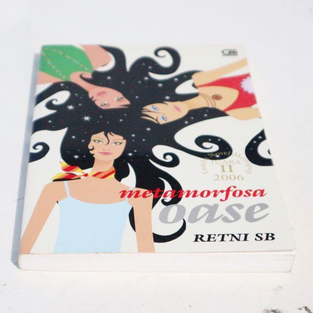 Buku Novel Metamorfosa