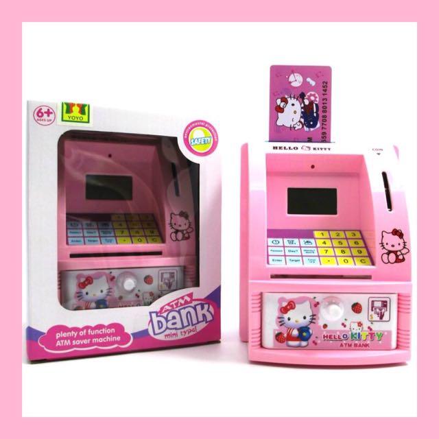 Celengan ATM Mini - Hello Kitty