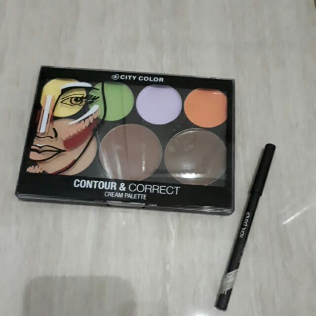 City Color Contour N Correct Palette Concealer