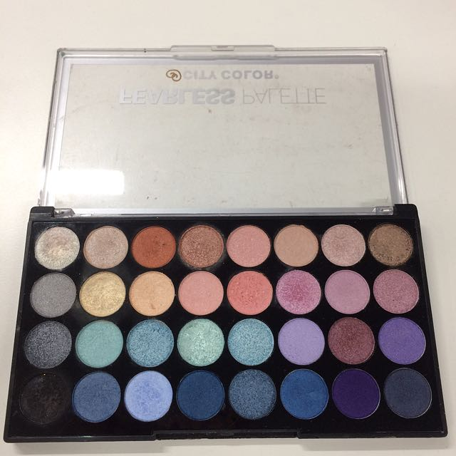 City Color Fearless Palette Eyeshadow