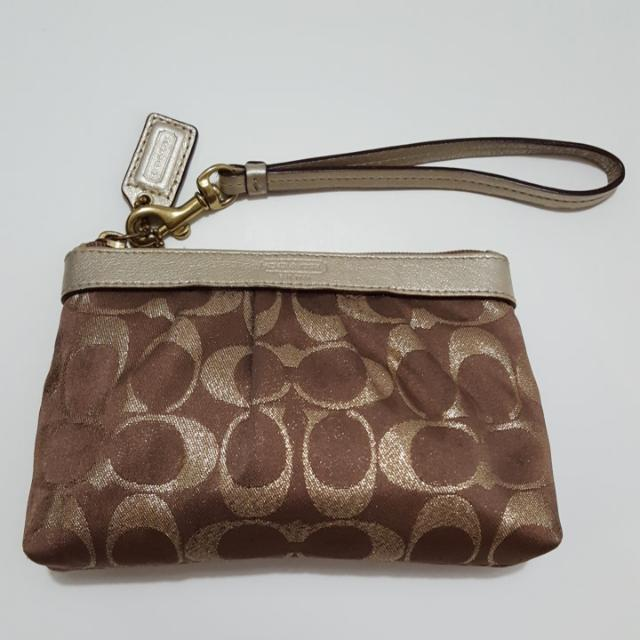 Coach Printed Clutch