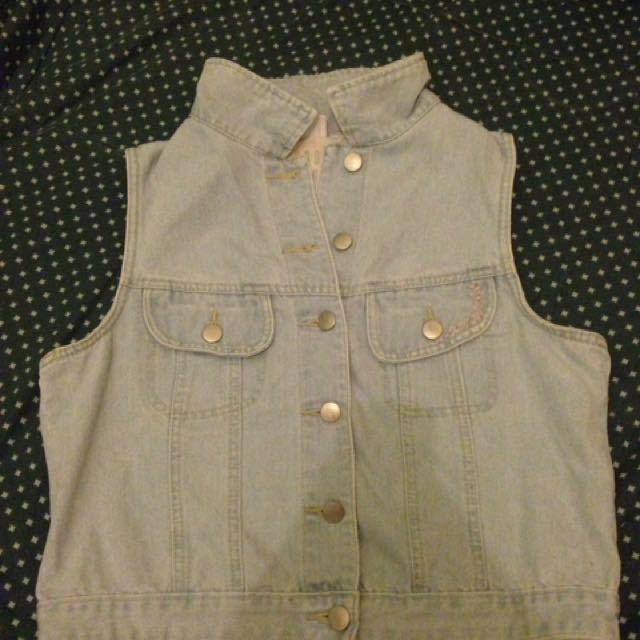 Cotton on cropped vest