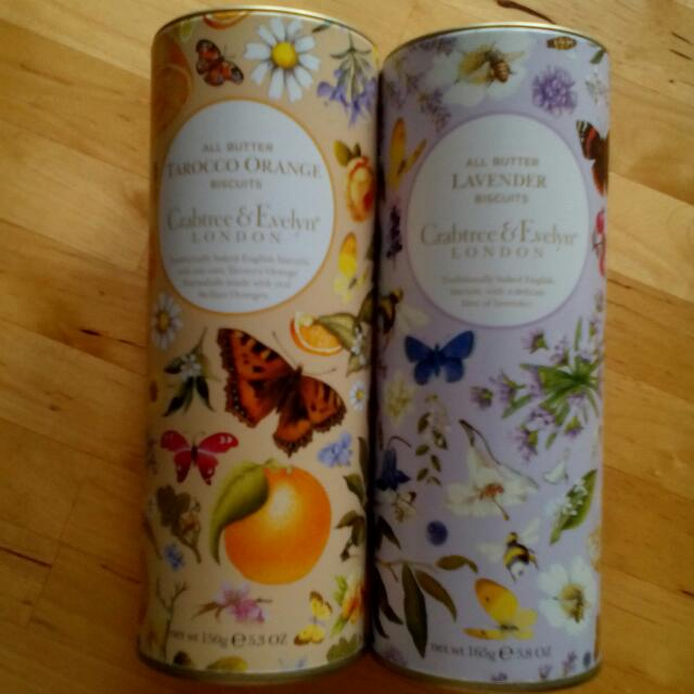 Crabtree & Evelyn Tins