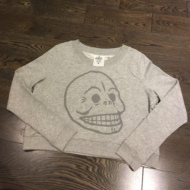 Cropped Cheap Monday Sweatshirt