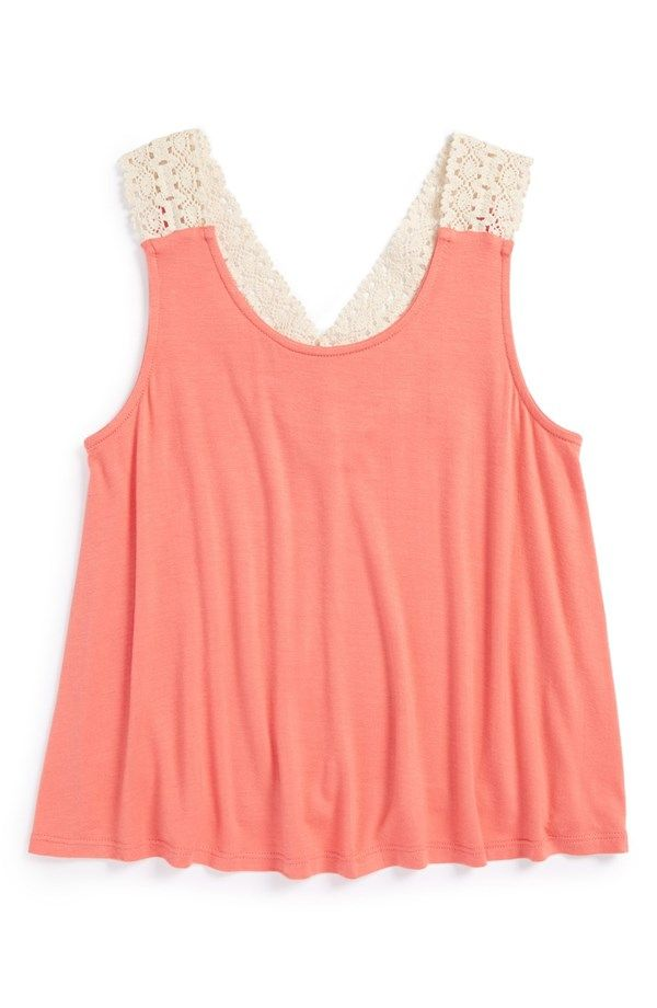 Cute Peach Tank Top